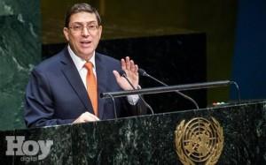 ONU canciller Cuba