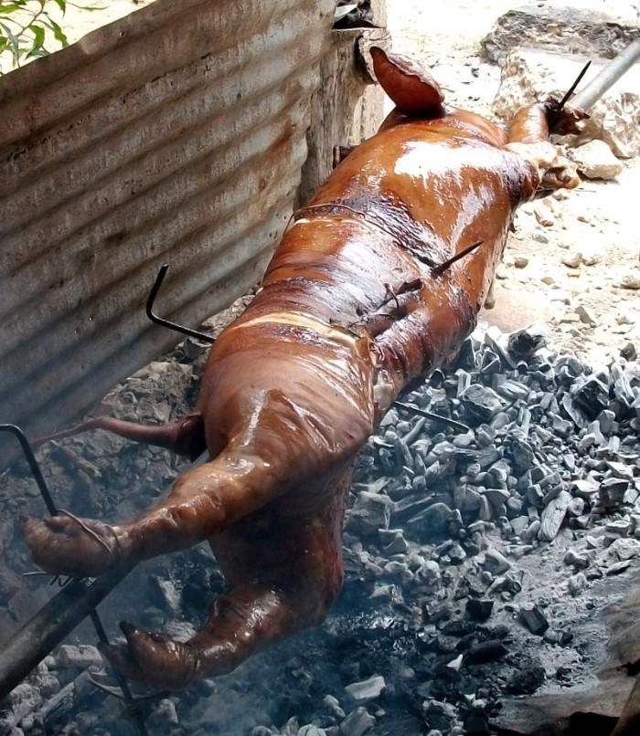 Cerdo a la pua variante 1
