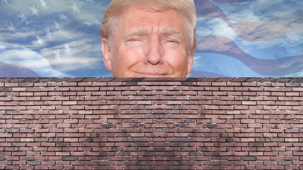 Resultado de imagen para muro trump