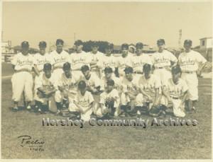 Equipo de pelota Hershey - 1956
