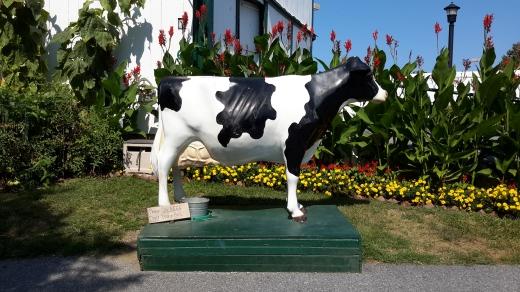 Monumento a la Ubre Blanca Amish
